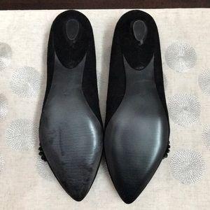 Audrey Brooke Shoes - NIB Black Suede Audrey Brooke Flats, Size 8.5 ❤️